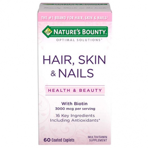 $5.60 Nature's Bounty Optimal Solutions Hair, Skin & Nails Formula, 60 Tablets @ Amazon