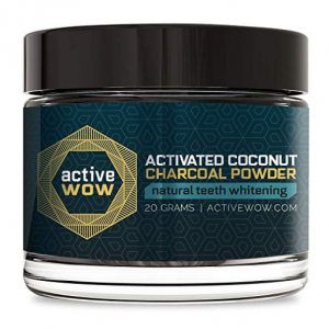 $14.92 Active Wow Teeth Whitening Charcoal Powder Natural @ Amazon