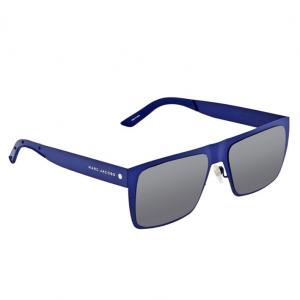 MARC JACOBS Blue, Gray Gradient Rectangular Unisex Sunglasses MARC 55/S 06VX J3