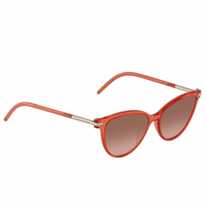 MARC JACOBS Brown Coral Gradient Cat Eye Ladies Sunglasses MARC 47/S 0TOT FX