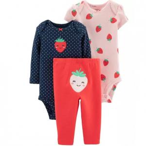 Carter's 3-Piece Strawberry Little Character Set