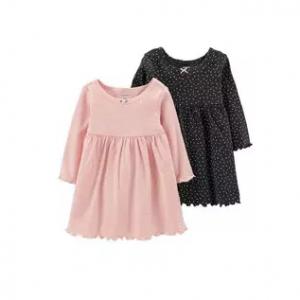 Carter's 2-Pack Long-Sleeve Dress Set