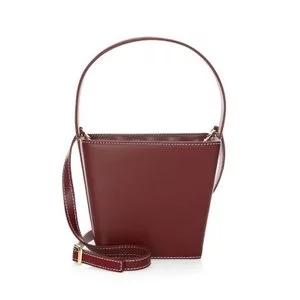 Staud Edie Leather Bucket Bag