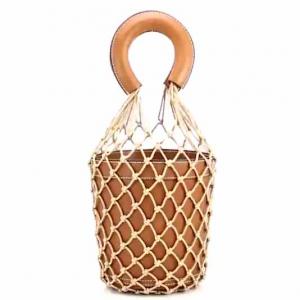 Staud Moreau Leather Bucket Bag