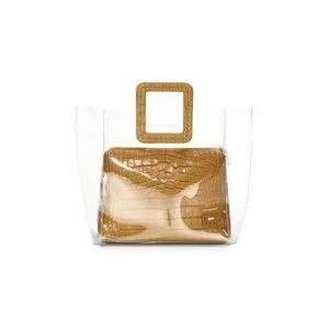 Staud Shirley Croc-Embossed Bag