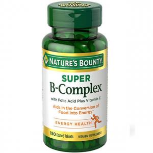 Nature's Bounty B-Complex with Folic Acid Plus Vitamin C
