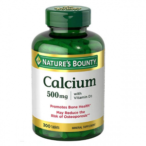 Nature's Bounty Calcium and Vitamin D3 Mineral Supplement, Supports Bone Strength and Health