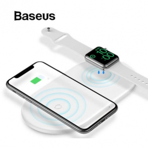 Baseus 2-in-1 10W Qi Fast Wireless Charger @ JoyBuy