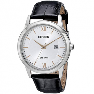 $106.02 off Citizen Men's Eco-Drive Stainless Steel Watch with Date, AW1236-03A @ Amazon