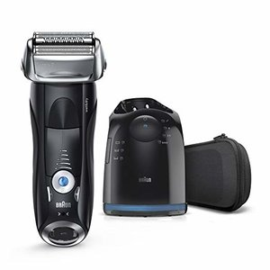 Braun Series 7 Men's Electric Foil Razor with Clean&Charge Station, 7880cc @ Amazon