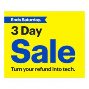 Best Buy 3 Day Sale, Save up to $400 on Macbook Pros