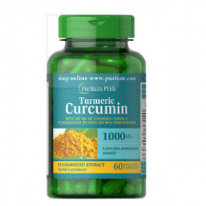 Puritan's Pride 姜黄素 1000 mg + 胡椒素 5 mg 60粒