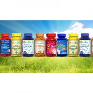 Puritan's Pride 自营保健品牌折上折促销 收 维骨力软骨素、鱼油、维生素、Q10辅酶