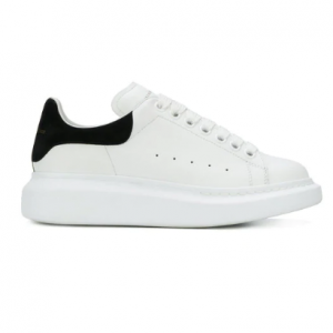 ALEXANDER MCQUEEN White oversized sole sneakers