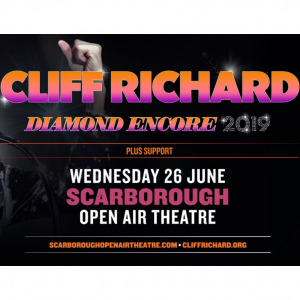 10 off Cliff Richard At Scarborough's Open Air Theatre