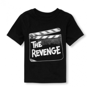 Baby And Toddler Boys Dad And Me Short Sleeve 'The Revenge' Matching Graphic Tee