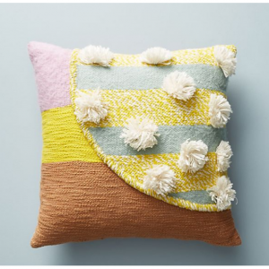 All Roads Baja Pillow, Yellow 20 x 20