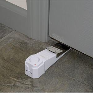 $9.99 SABRE Wedge Door Stop Security Alarm with 120 dB Siren @ Amazon
