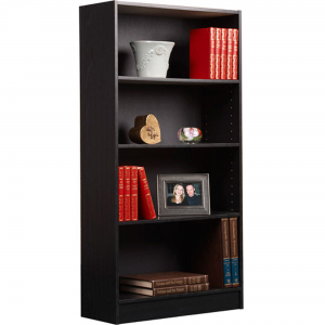 "$6.99 off Orion 47"" 4-Shelf Bookcase, Multiple Finishes @ Walmart"