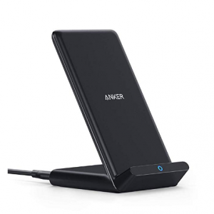 Anker Fast Wireless Charger, 10W Wireless Charging Stand, Qi-Certified, Compatible iPhone XR/Xs