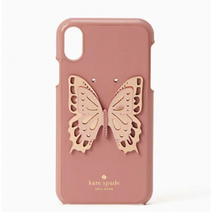 butterfly applique iphone xr case