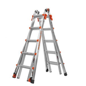 $169.98 Little Giant 22-Foot Velocity Multi-Use Ladder, 300-Pound Duty Rating, 15422-001 @ Amazon