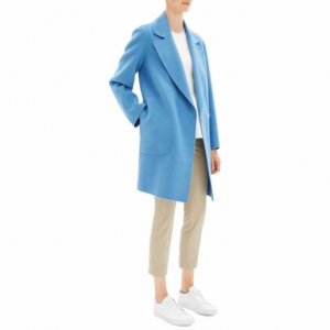 Theory Boy Double-Breasted Wool Coat