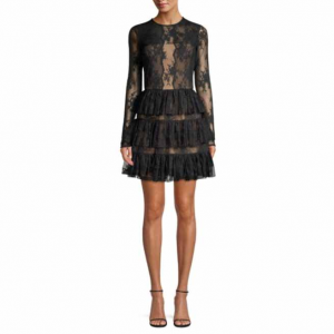 Bailey 44 Riviera Lace Fit-&-Flare Dress