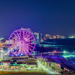 Round trip to Myrtle Beach, South Carolina From $127 @Skyscanner
