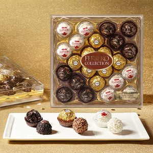 $10.34 Ferrero Collection Fine Assorted Confections , 24 Count Gift Box, 9.1 oz.