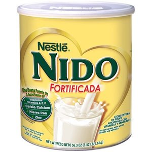 $27.67 NIDO Fortificada Dry Milk 56.3 oz. Canister (2 pack) @ Walmart