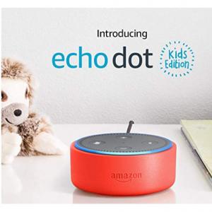 Echo Dot 儿童智能音箱,三色可选 @ Amazon