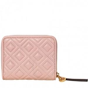 TORY BURCH Fleming Medium Wallet- Shell Pink