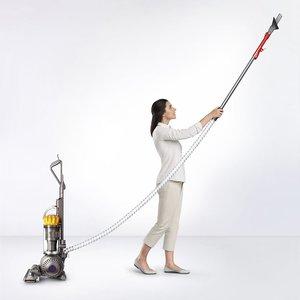 $150 off Dyson - Ball Multi Floor Bagless Upright Vacuum - Iron/Yellow @ Best Buy