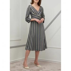 Peter Pilotto Lurex striped maxi dress