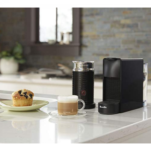 $121.35 Nespresso Essenza Mini Original Espresso Machine Bundle with Aeroccino Milk Frother@Amazon