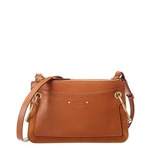 Chloe Roy Mini Leather & Suede Shoulder Bag