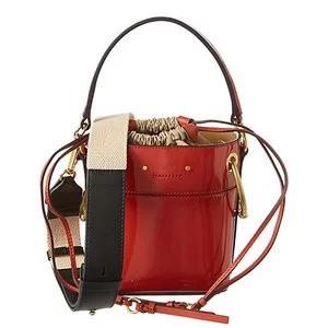 Chloe Roy Mini Patent Bucket Bag