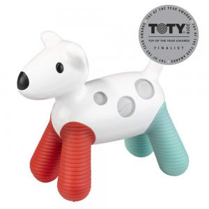 PlayMonster Kid O Hudson Glow Rattle Toy, Red/Green/White/Black