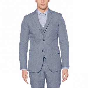 Slim Fit Linen Suit Jacket