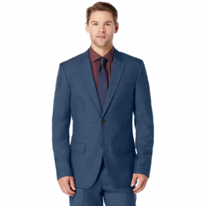 Slim Fit Two Toned Suit Jacket