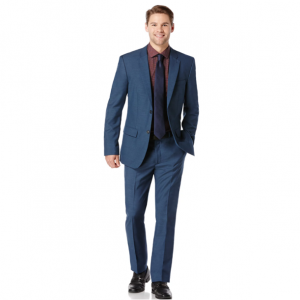 Slim Fit Two Toned Suit