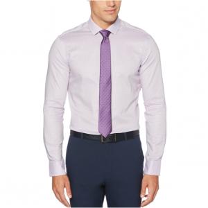 Very Slim Fit Lilac Nailshead Dress Shirt