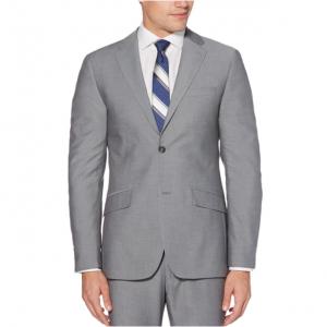 Very Slim Fit Silver Grey Suit Jacket