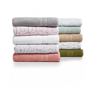 LAST ACT! Sculpted Cotton Wash Towel