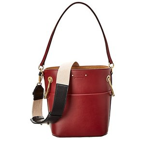 Chole Roy Small Leather Bucket Bag