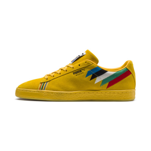 PUMA x Power Through Peace Africa Suede Sneakers