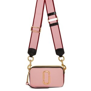 Marc Jacobs Pink Small Snapshot Camera Bag for $255 @SSENSE