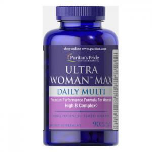 Puritan's Pride Ultra Woman™ Max Daily Multivitamin