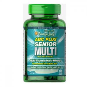 Puritan's Pride ABC Plus® Senior Multivitamin Multi-Mineral Formula